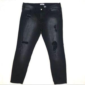 Judy Blue Los Angeles | Black skinny jeans
